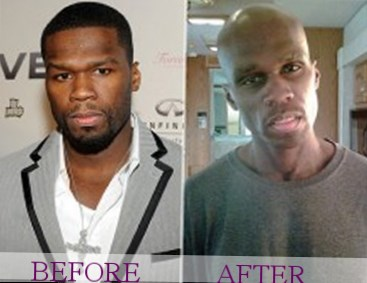 50 cent weight changes