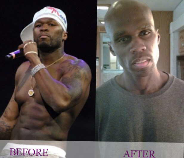Celebrity 50 cent weight changes photos video for 50 cent tattoos removed