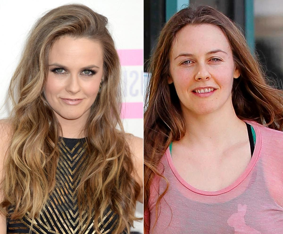 Alicia Silverstone photo without makeup