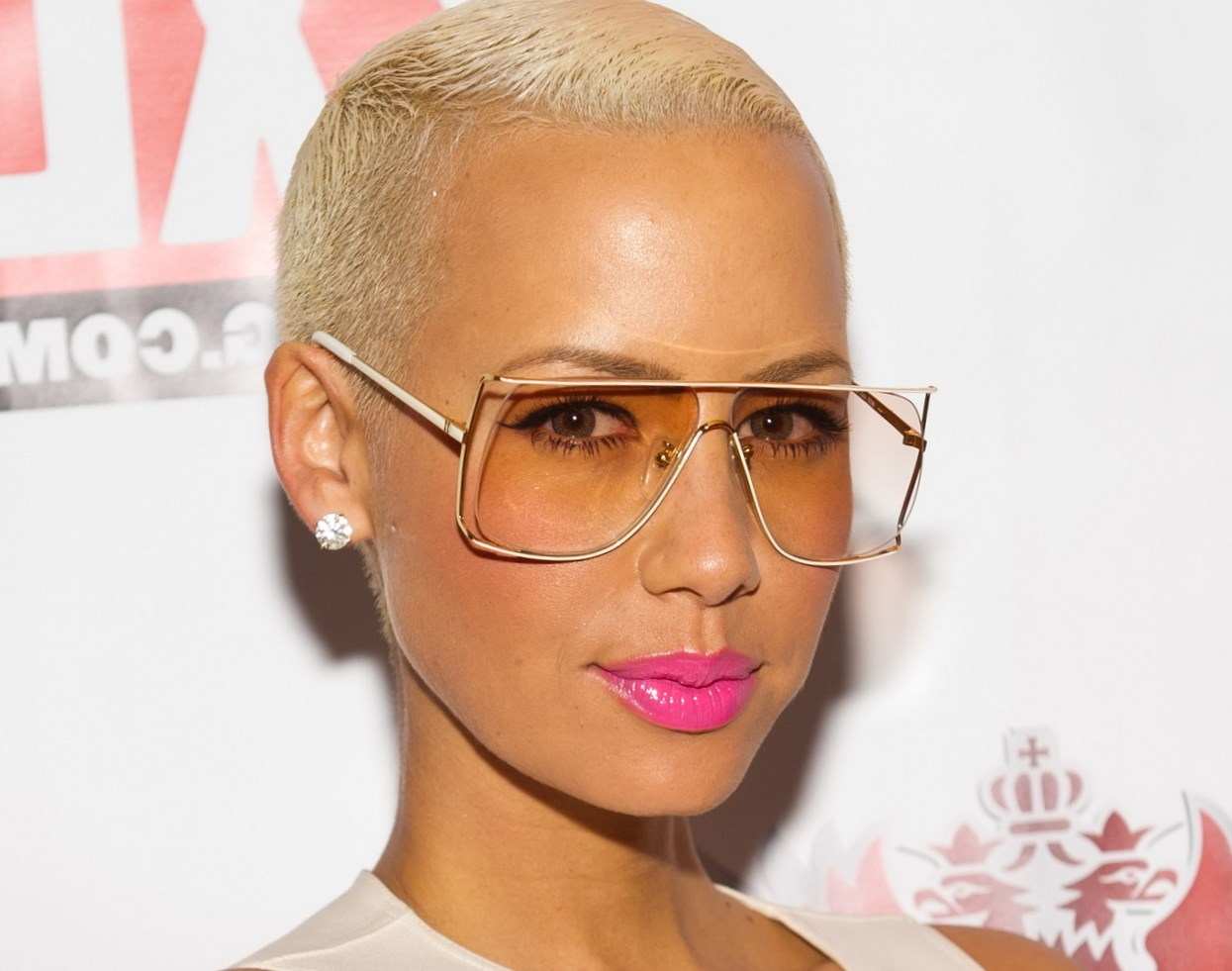 Hair changes Amber Rose photo