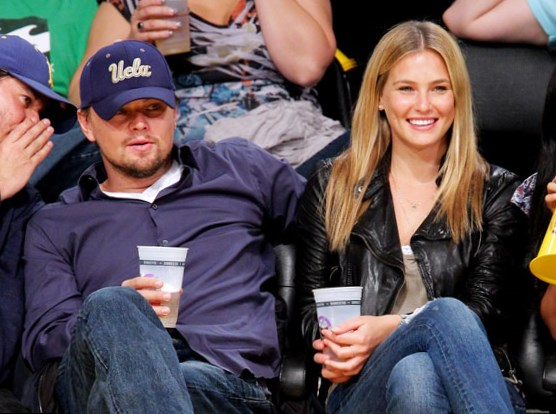 Bar Refaeli and Leonardo DiCaprio