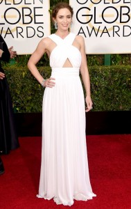 Emily Blunt Golden Globe Awards