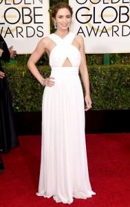 Emily Blunt Golden Globe Awards