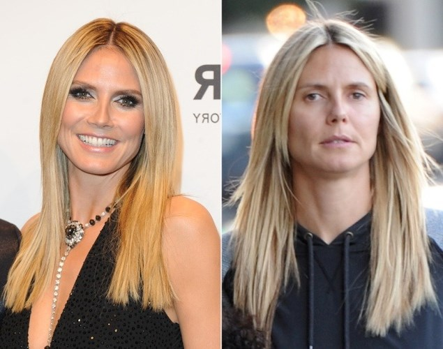 Heidi Klum photo without makeup