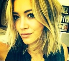 Hilary Duff hair changes