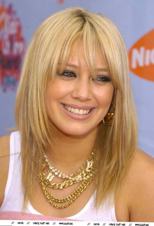 Celebrity Hilary Duff