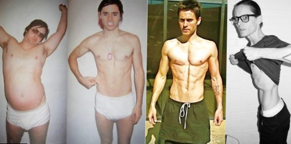 Jared Leto weight changes