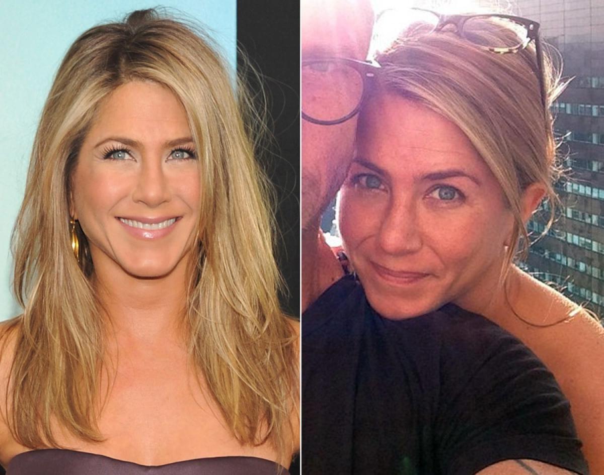 Jennifer Aniston photowithout makeup