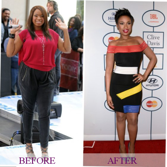 Jennifer Hudson weight changes