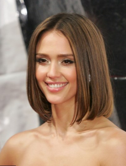 Jessica Alba hair changes