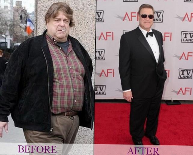 John Goodman weight changes