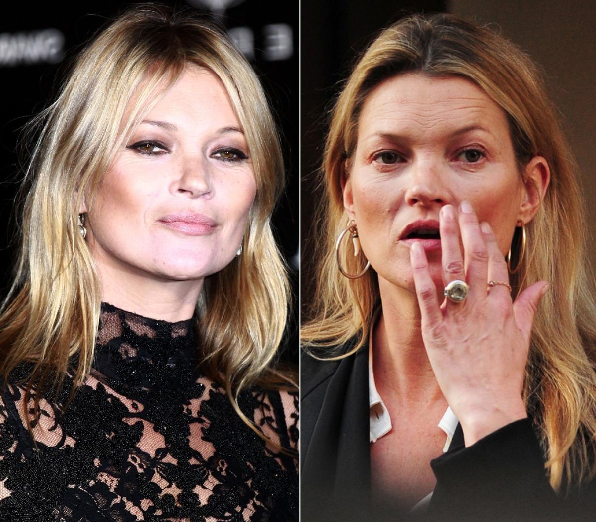 Kate Moss photowithout makeup