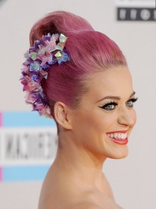 hair cganges Kety Perry