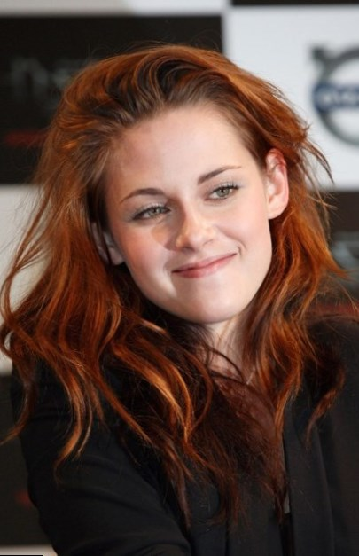 Kristen Stewart Natural Hair Color Blonde