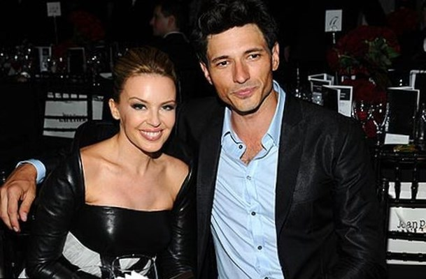 Kylie Minogue and Andres Velencoso Segura