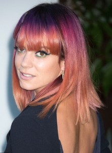 Lily Allen hair changes