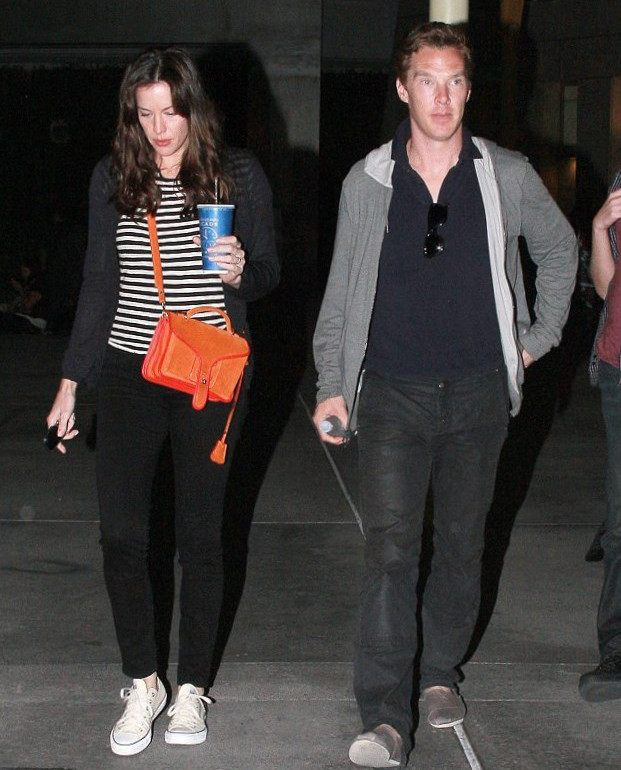 Liv Tyler and Benedict Cumberbatch