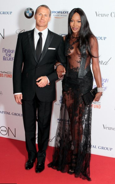 Naomi Campbell and Vladislav Doronin