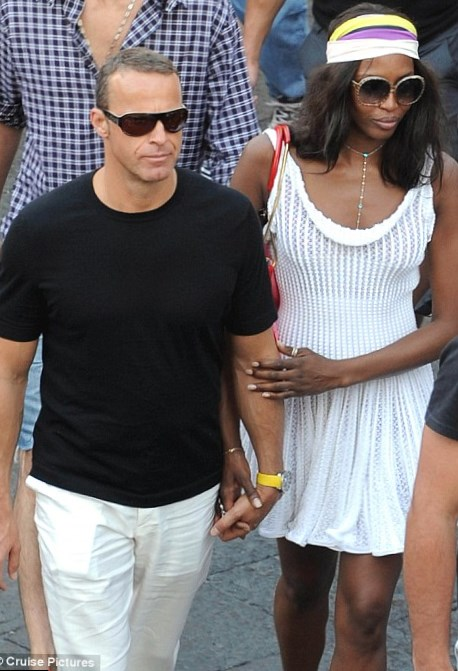 Naomi Campbell and Marcus Elias