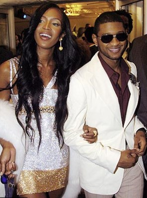 Naomi and Usher Raymond