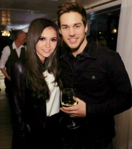 Nina Dobrev and Chris Wood