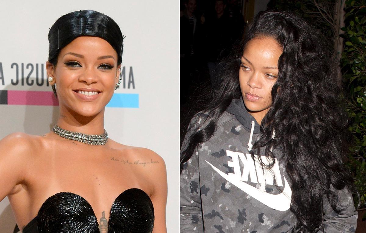 Rihanna photowithout makeup
