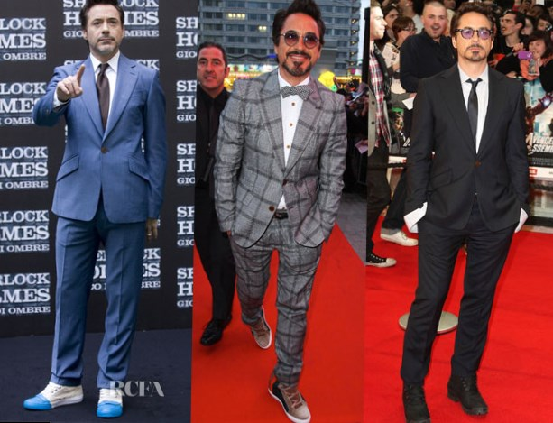 Robert Downey Jr. suits