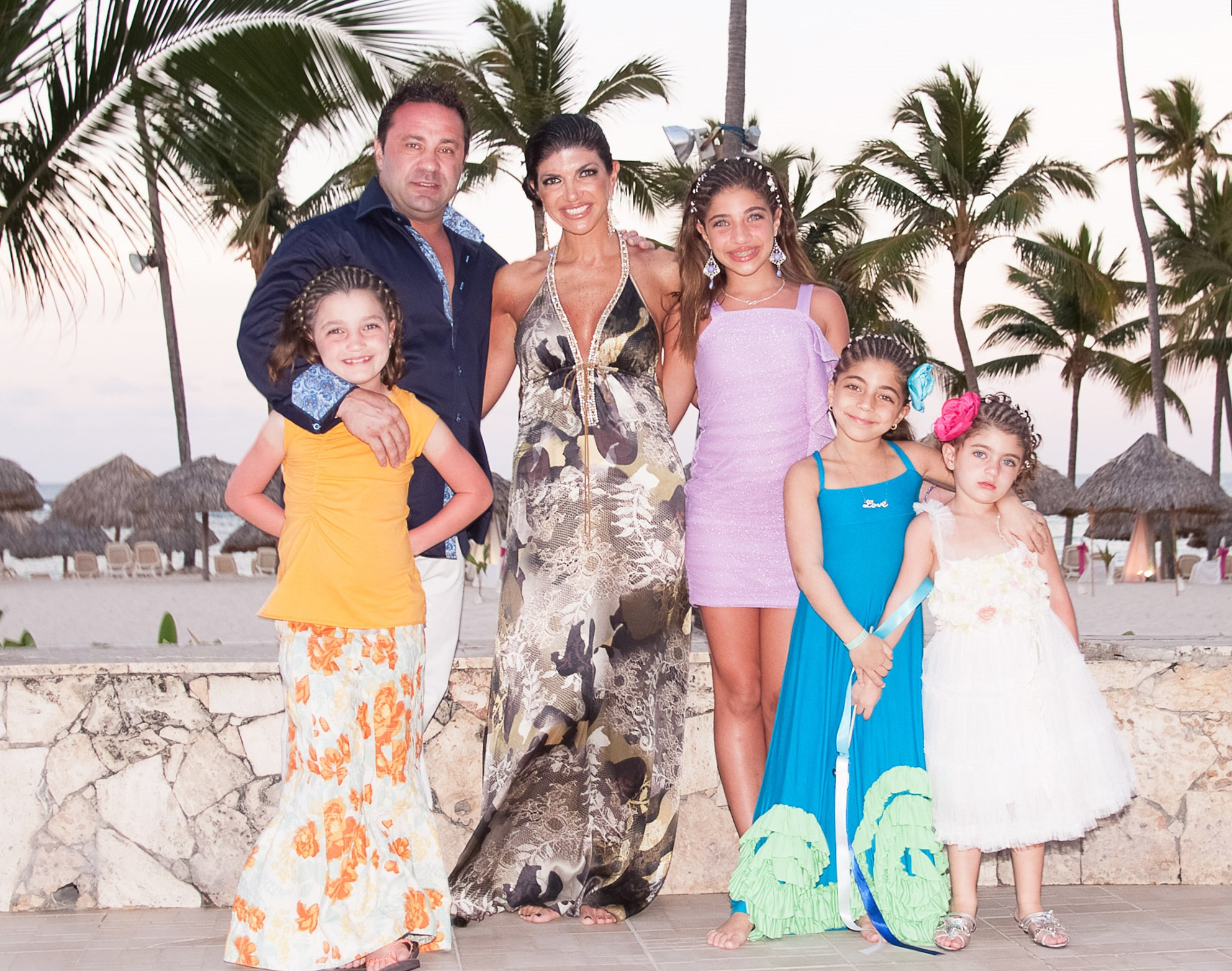 Teresa Giudice and family