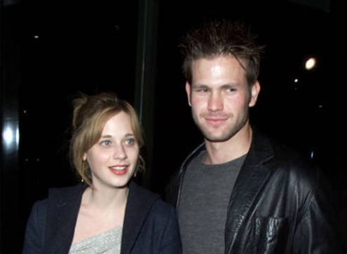 Zooey Deschanel with her former boyfriend Matthew Davis