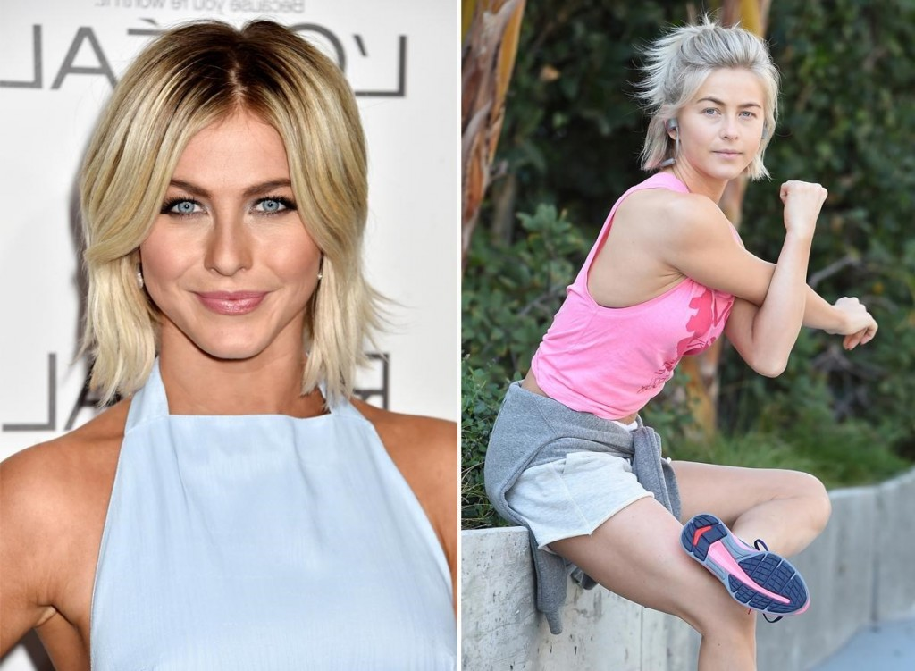Julianne Hough without makeup
