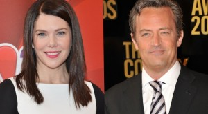 Matthew Perry and Lauren Graham