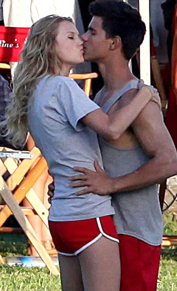 Taylor-Lautner and Taylor-Swift