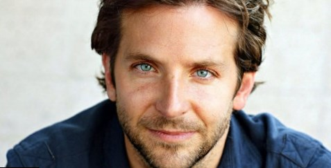 Bradley Cooper's eyes and hair color