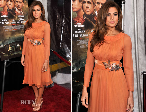 Eva Mendes premiere Place Beyond The Pines