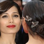 Freida Pinto – Celebrity hair changes