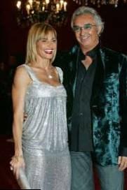 Heidi Klum and Flavio Briatore