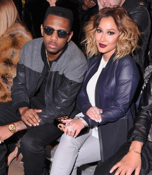 James LeBron and Adrienne Bailon
