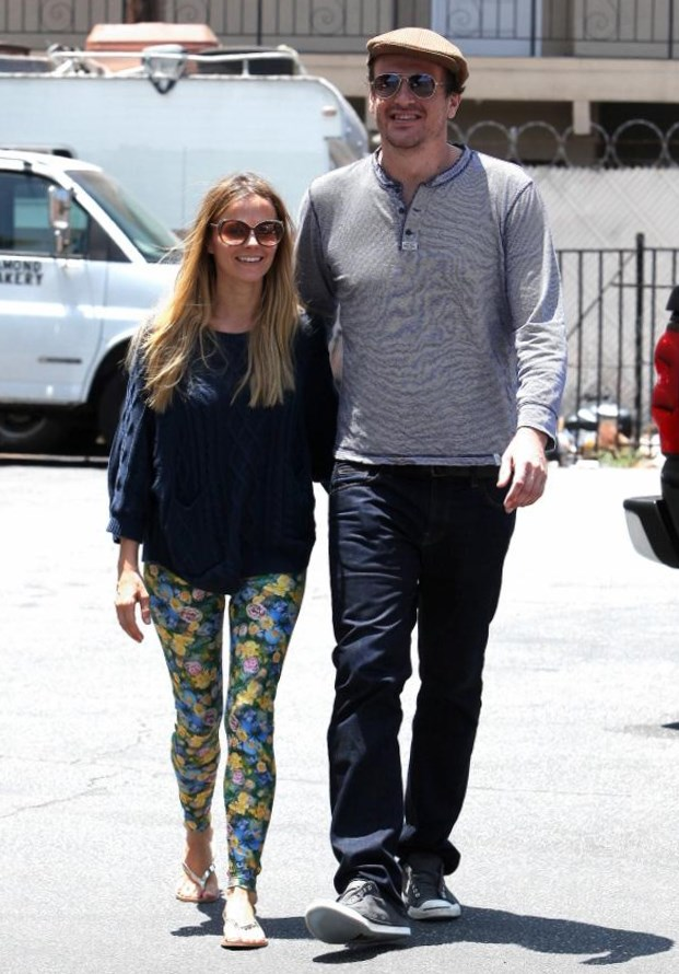 Jason Segel and Bojana Novakovic
