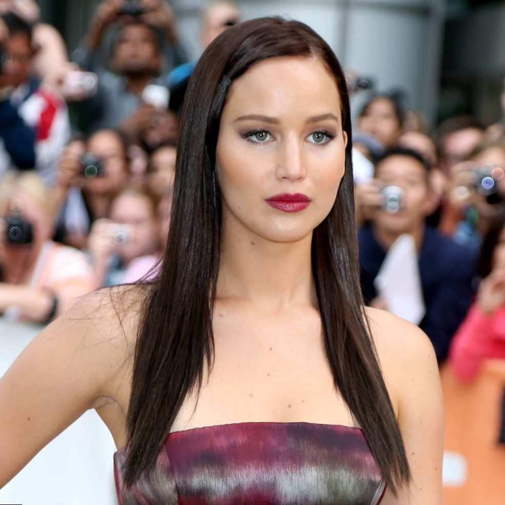 Celebrity Jennifer Lawrence Hair Changes Photos Video