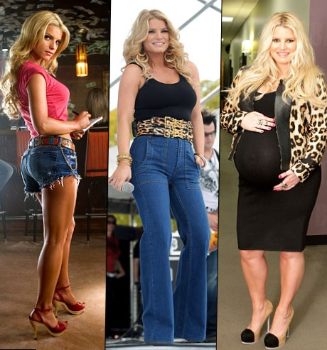 Celebrity Jessica Simpson - weight changes, photos, video
