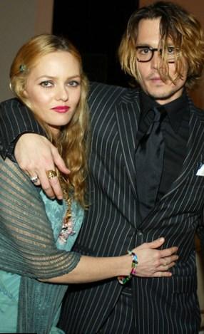 Johnny Depp & Vanessa Paradis