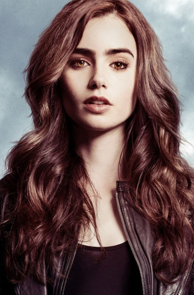 Celebrity Lily Collins...