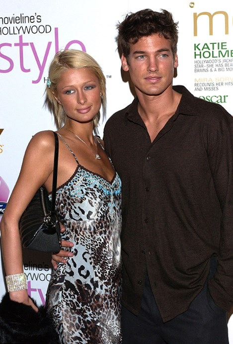 Paris Hilton and Jason Shaw
