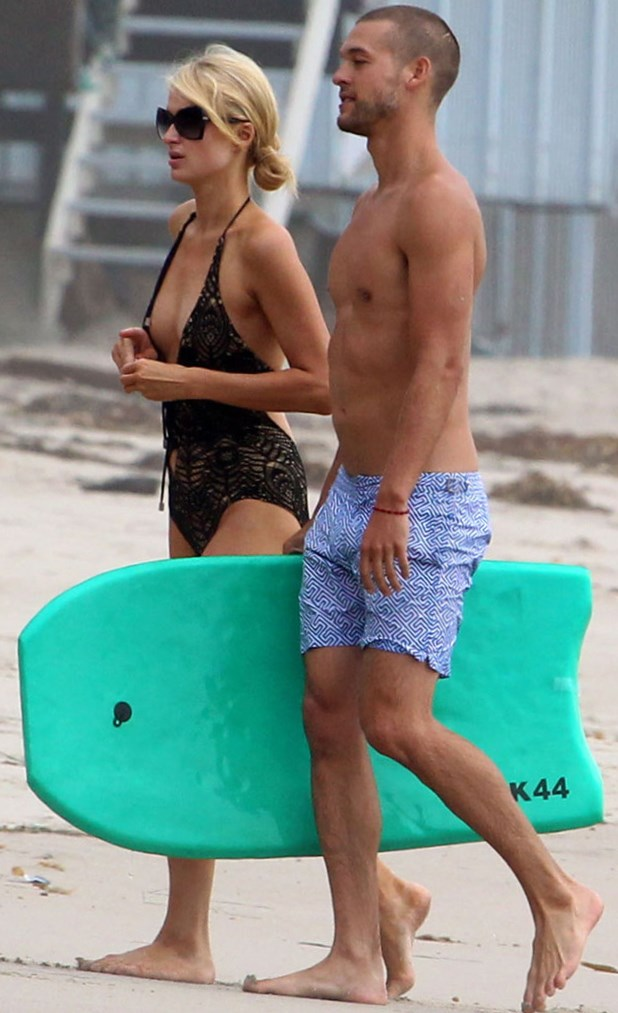 Paris Hilton and Josh Upshaw