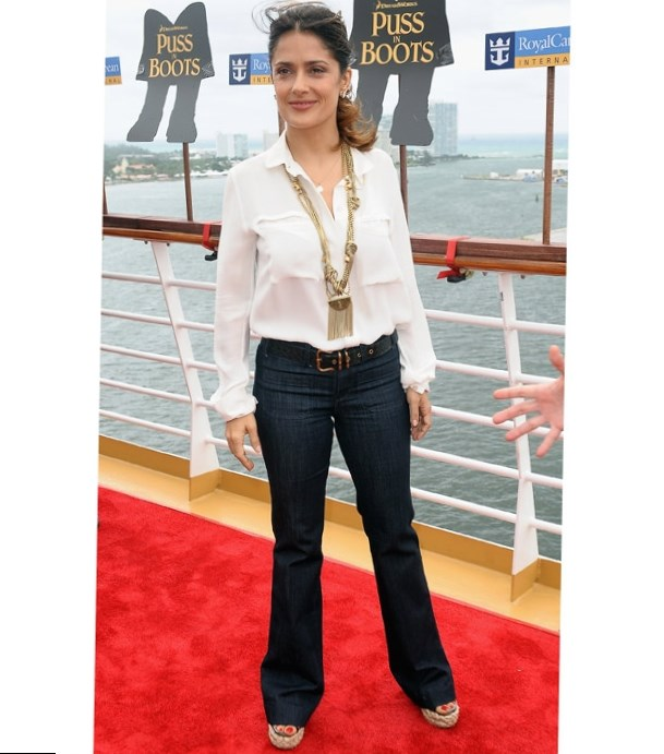 Salma Hayek's Best Looks - Celebrity Style