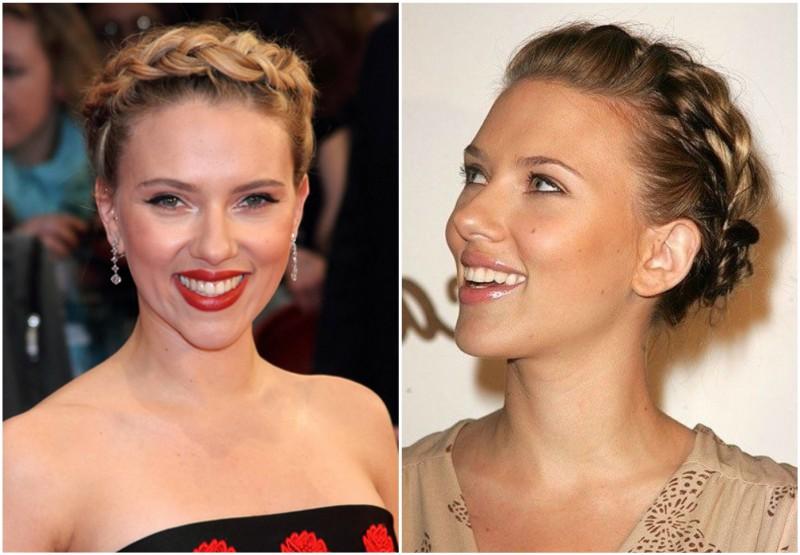 Scarlett Johansson`s hairdo