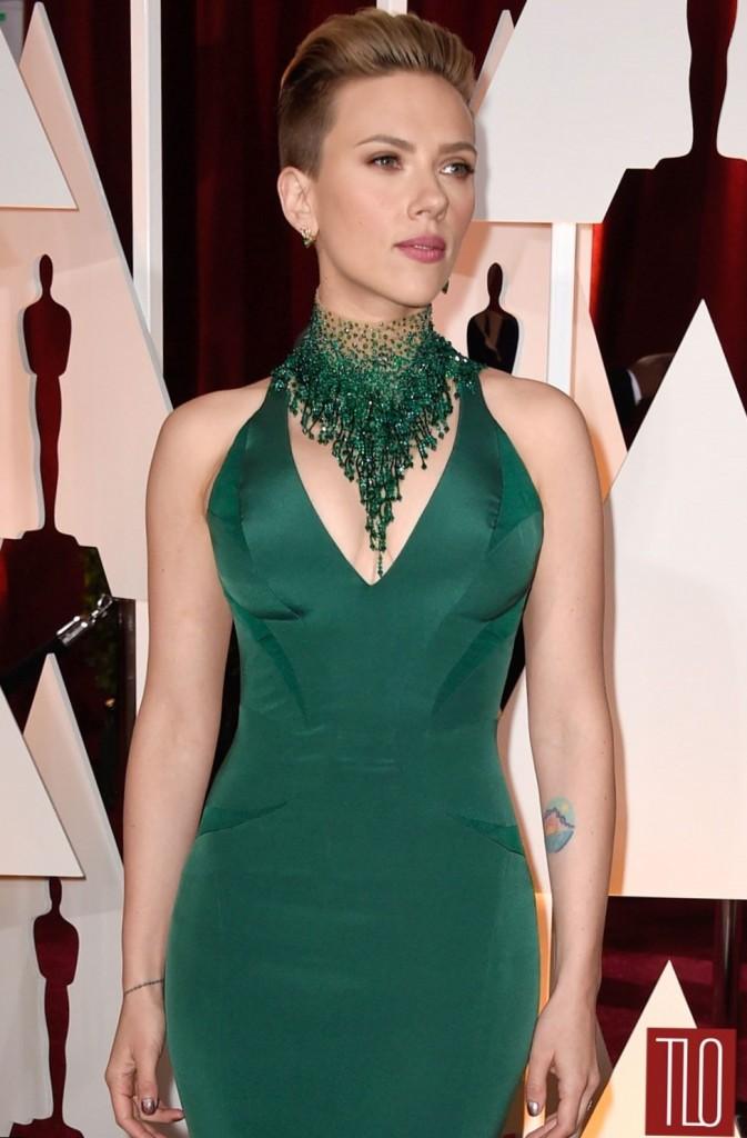 Scarlett Johansson`s hairdos