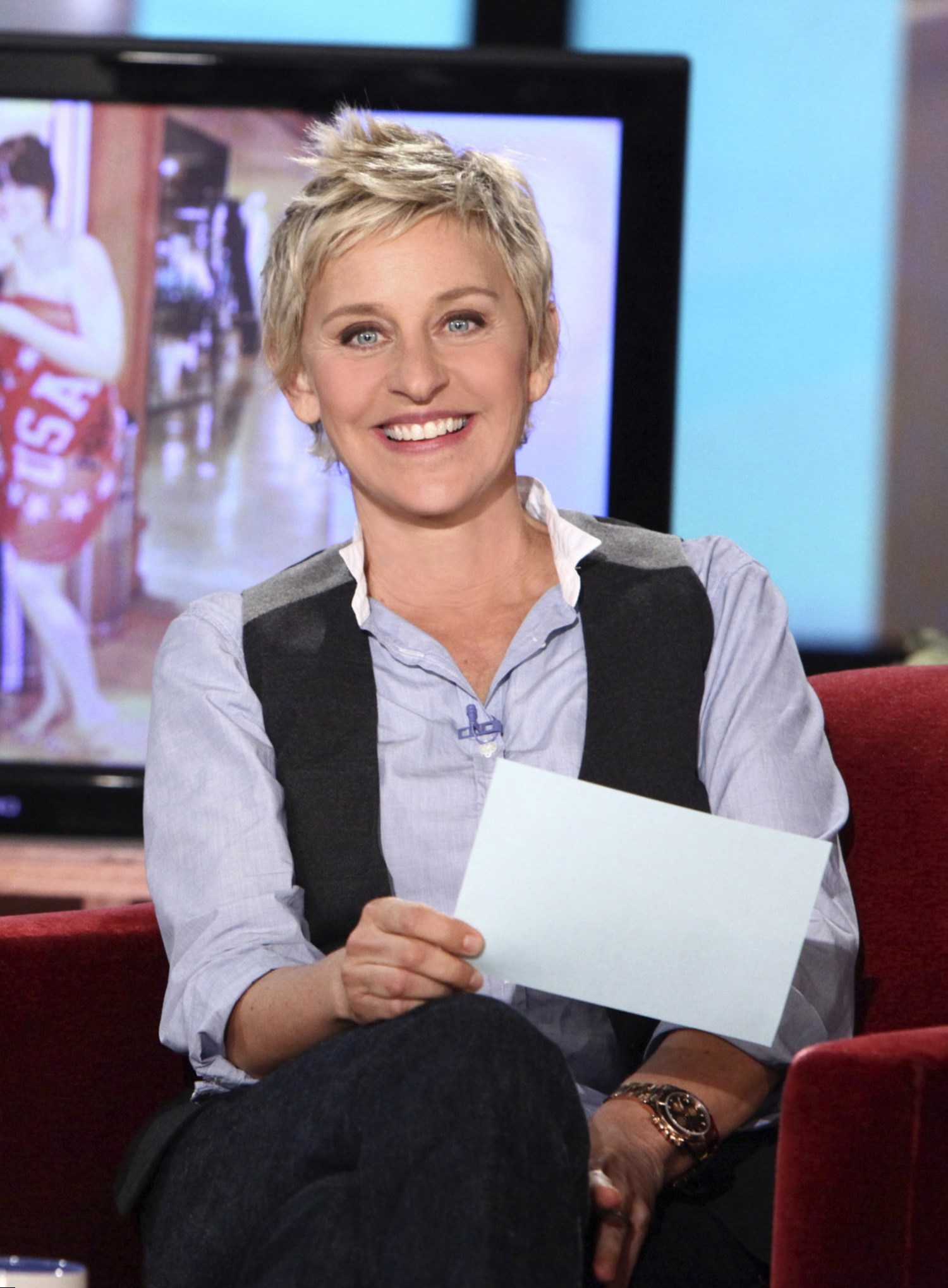 Celebrity Ellen DeGeneres - Weight, Height and Age