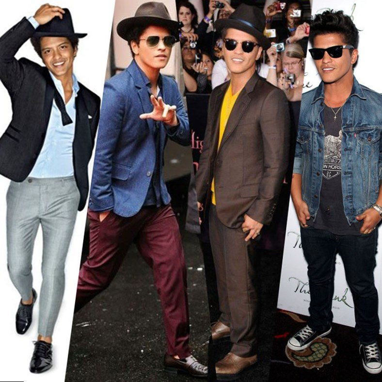 bruno mars looks style photos