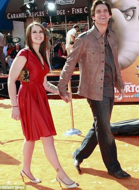 Jim Carrey's daughter Jane